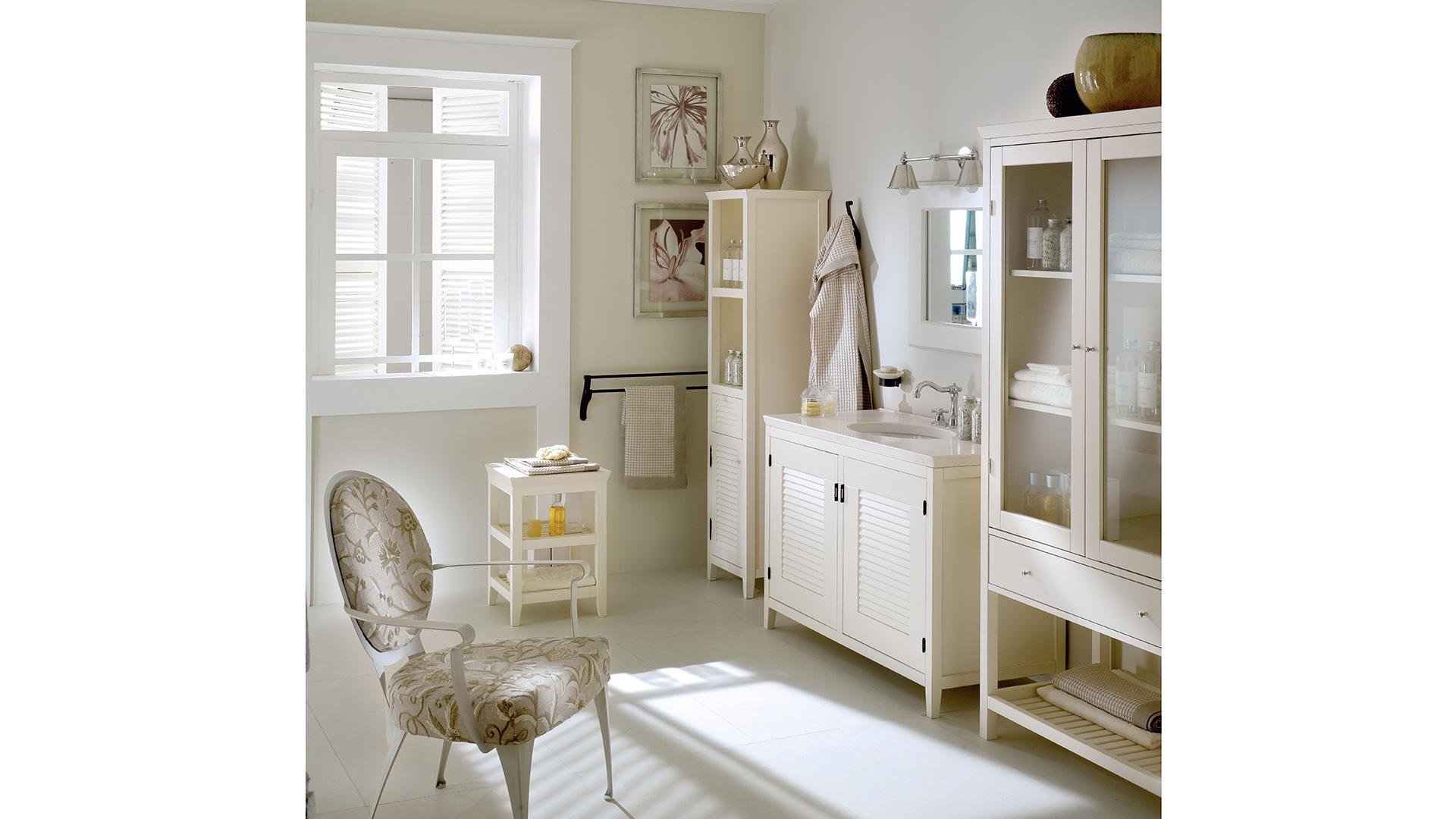 Mobili per il bagno in legno massello Ciro - Cantori