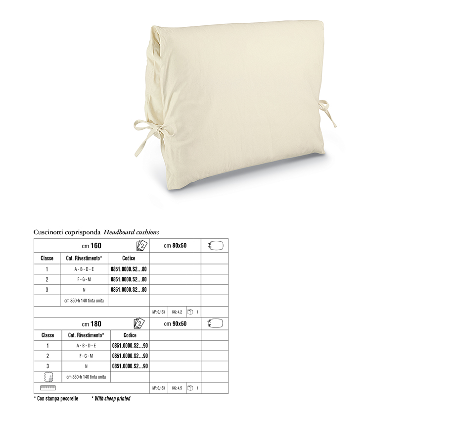 Cushions and panels cantori - Copritestata letto ...