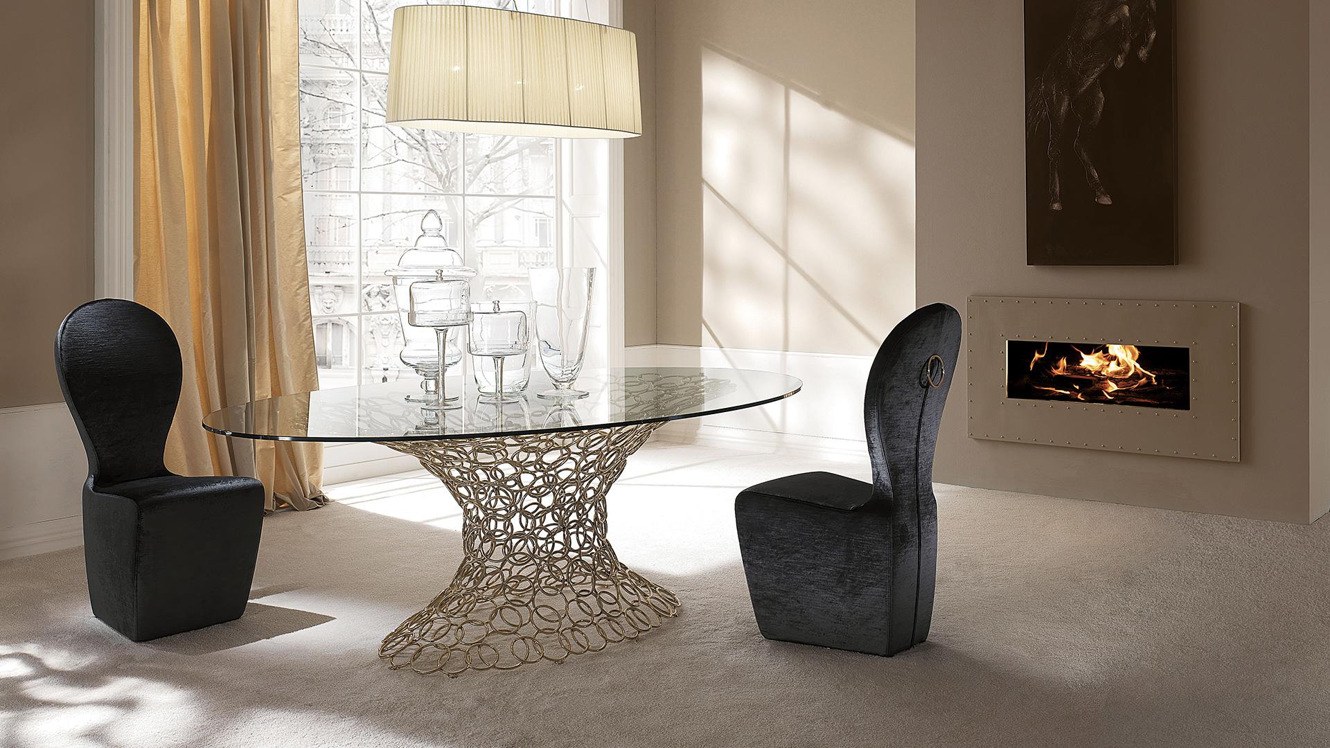 Mondrian cantori for Tavoli eleganti