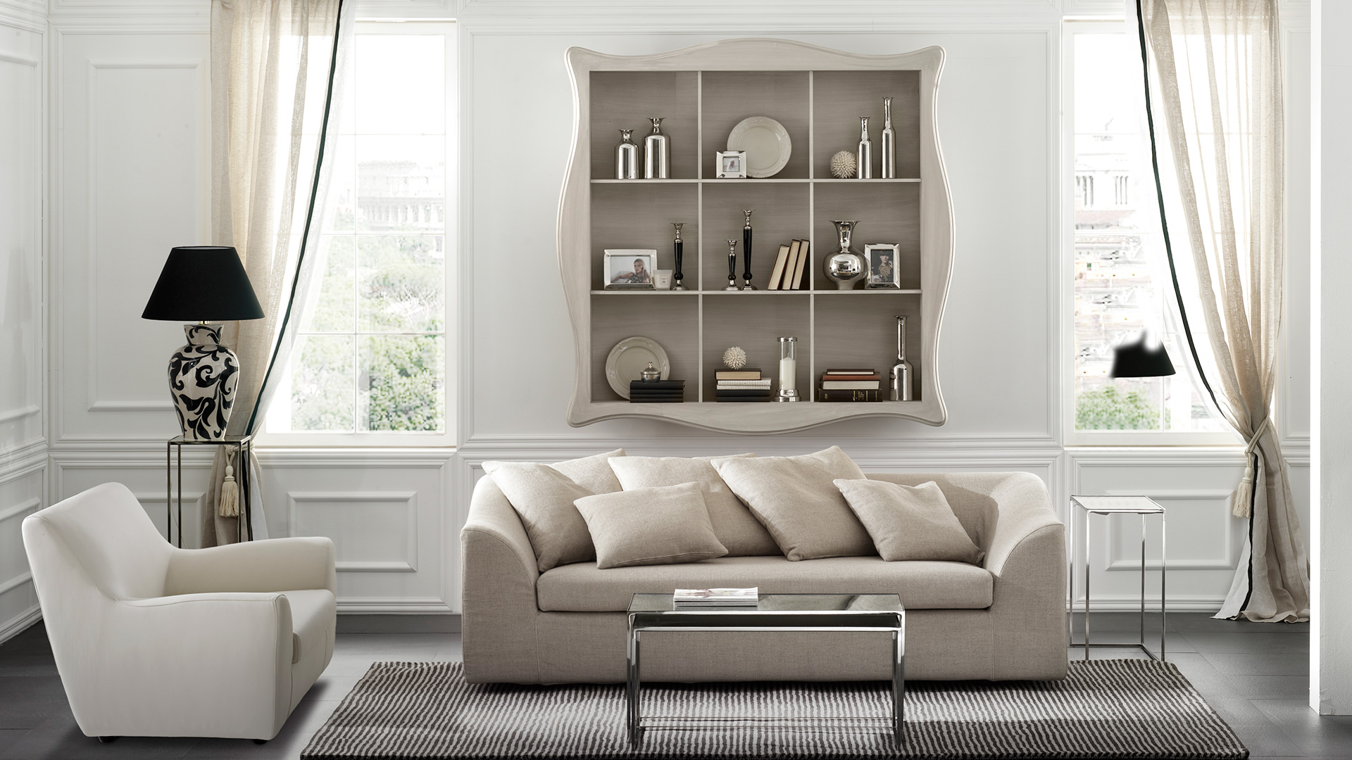 #595147 Raffaello Wall Shelving Unit Living Room Furniture Cantori with 1920x1080 px of Brand New Wall Shelving Units For Living Room 10801920 pic @ avoidforclosure.info