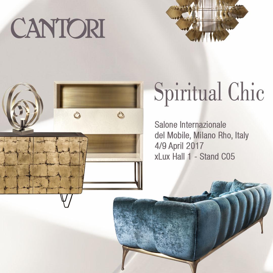 Spiritual chic per il salone del mobile 2017 cantori for Il salone del mobile